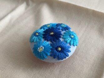 お花のマグネットの画像