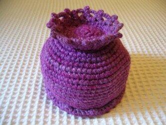 フルーツ帽(ブルーベリー)の画像