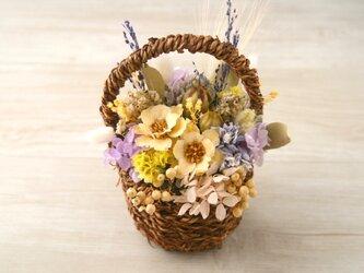 Flower basket (S) アネモネ Whiteの画像