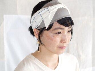 ○受注アイテム○patchwork turban (cotton mix 20ss-g)の画像