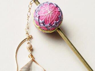 手毬かんざし(山茶花)の画像