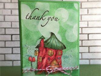 森小屋のサンキューカードの画像
