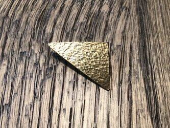 三角ブローチの画像