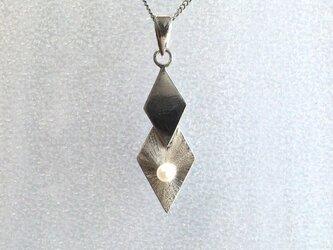rhombus◇パール ネックレスの画像