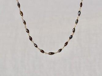 Chocolate diamonds eternity braceletの画像