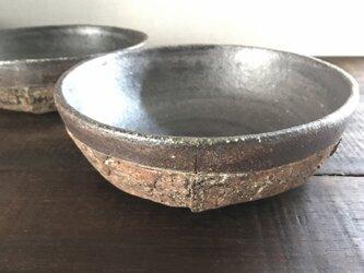 焼締「纏」中深鉢(シリアルボウル)の画像