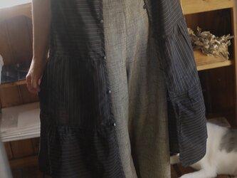 着物からロングベストの画像