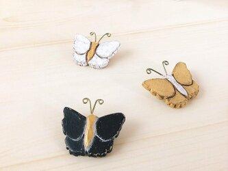 蝶のブローチ/GDの画像