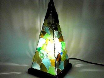 シーグラスランプ ピラミッドランプ L-16の画像