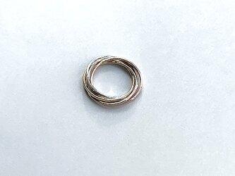 五色五連指輪 rr-134の画像
