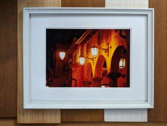 風景写真A4 街の灯りの画像
