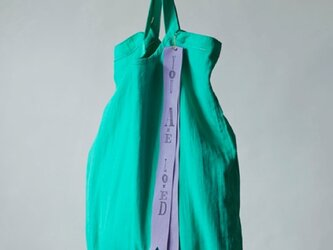 pastel color tote bag (pastel green)の画像
