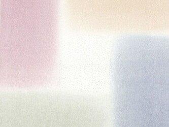 風呂敷 ふろしき    引染 桝取ぼかし ブルー 正絹 絹100% 45cm×45cmの画像