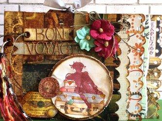 ボン ボヤージュ 旅のミニアルバムの画像
