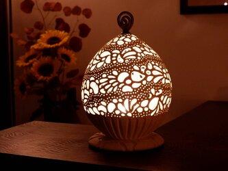 珊瑚砂インテリアランプ5(LEDキャンドルライトプレゼント)の画像