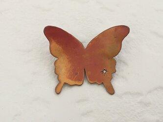 蝶のブローチ(CZ)の画像