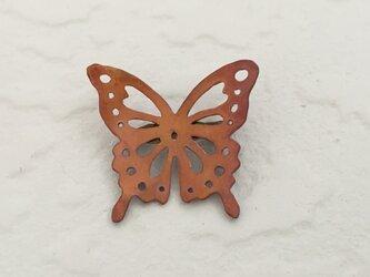 蝶のブローチ(すかし)の画像