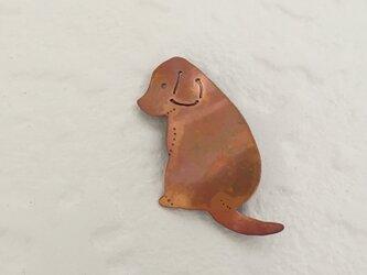 犬のブローチ(小)の画像