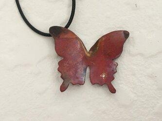蝶のペンダント(CZ)の画像
