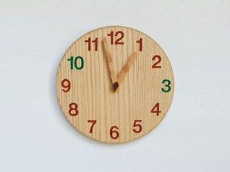 直径23.0cm おやつ時計 オーク【2026】の画像