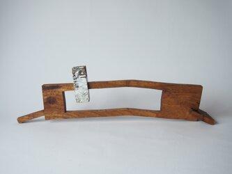 水門(木のオブジェ・一輪挿し)の画像