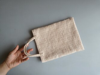 mini bag #naturalの画像