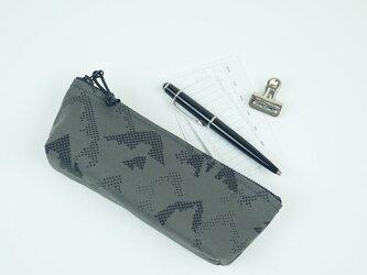 pouch 185G グレー×黒 ◆ 一部受注製作 ◆の画像