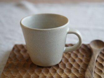 白マットのマグカップ No.904の画像