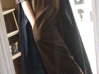 正絹反物からサロペットパンツの画像