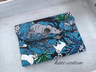 ■軽い!ミニ財布⭐︎サファリ柄の画像