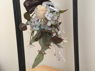 フレームハンギングflowerの画像