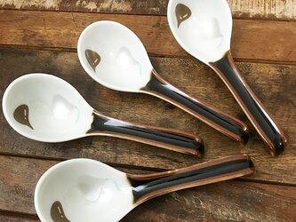 キスチョコ れんげ M ツートーン ★ 約13.5cm 鍋料理 スープにの画像