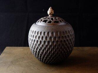 黒彩香炉1の画像