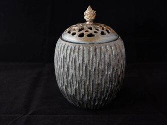 黒彩香炉2の画像