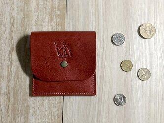 スクエアコインケース/2ポケット [チワワ/ロングコート]の画像