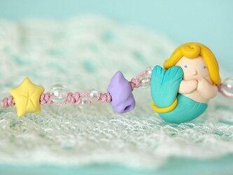 人魚姫の羽織紐の画像