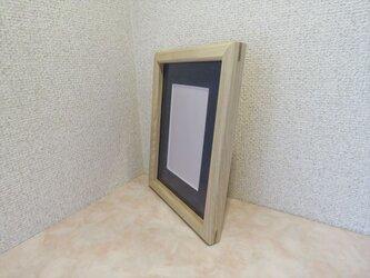 ハンドメイド フオトフレーム センの木の画像