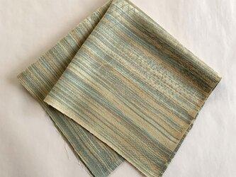 絹手染ハギレ(黄土茶系)の画像