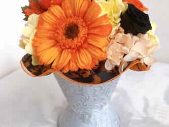 ブリキのハロウィンアレンジの画像