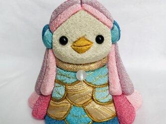 木目込人形 アマビエの画像
