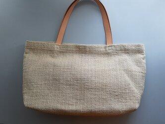 tote bag #natural 【砂色】の画像
