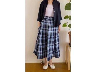 リネンタックギャザースカートの画像