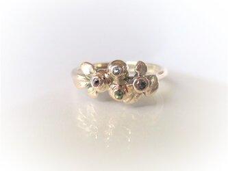 「M様オーダーメイド ブルーベリーのK10の指輪」の画像