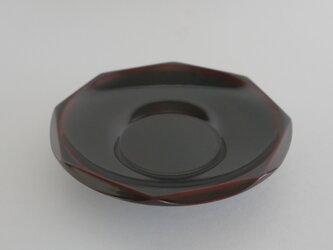 溜 40ダイヤ型茶托の画像