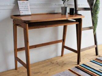 Bois Slim Wood Deskの画像