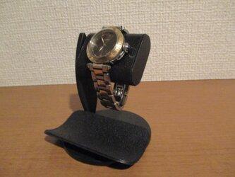 腕時計 飾る オールブラックだ円パイプ1本掛け ak-design 受注製作 N20200907の画像