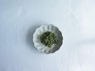 輪花鉢 サイズ小 白の画像