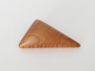 ブローチ sankaku  Mapleの画像