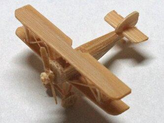 複葉機    竹ひご模型-1の画像