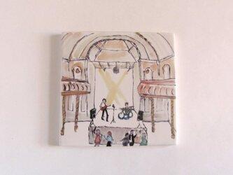 イギリス作家の手作りタイル 「ウィルトンズミュージックホール」の画像